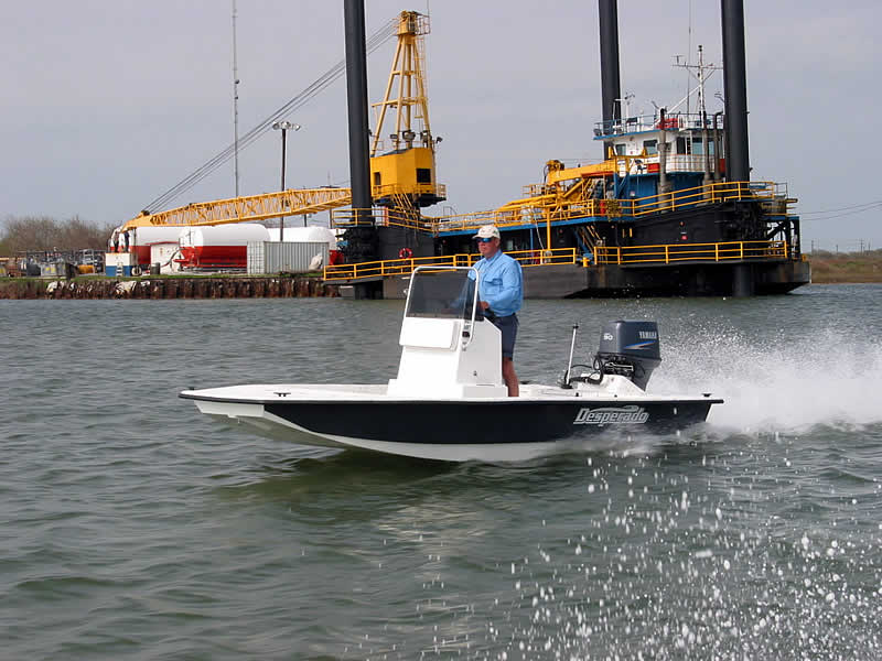 Boat Trailer Wiring >> Shallow draft fishing Boats - Desperado Boats :Desperado 16 - Shallow water boat